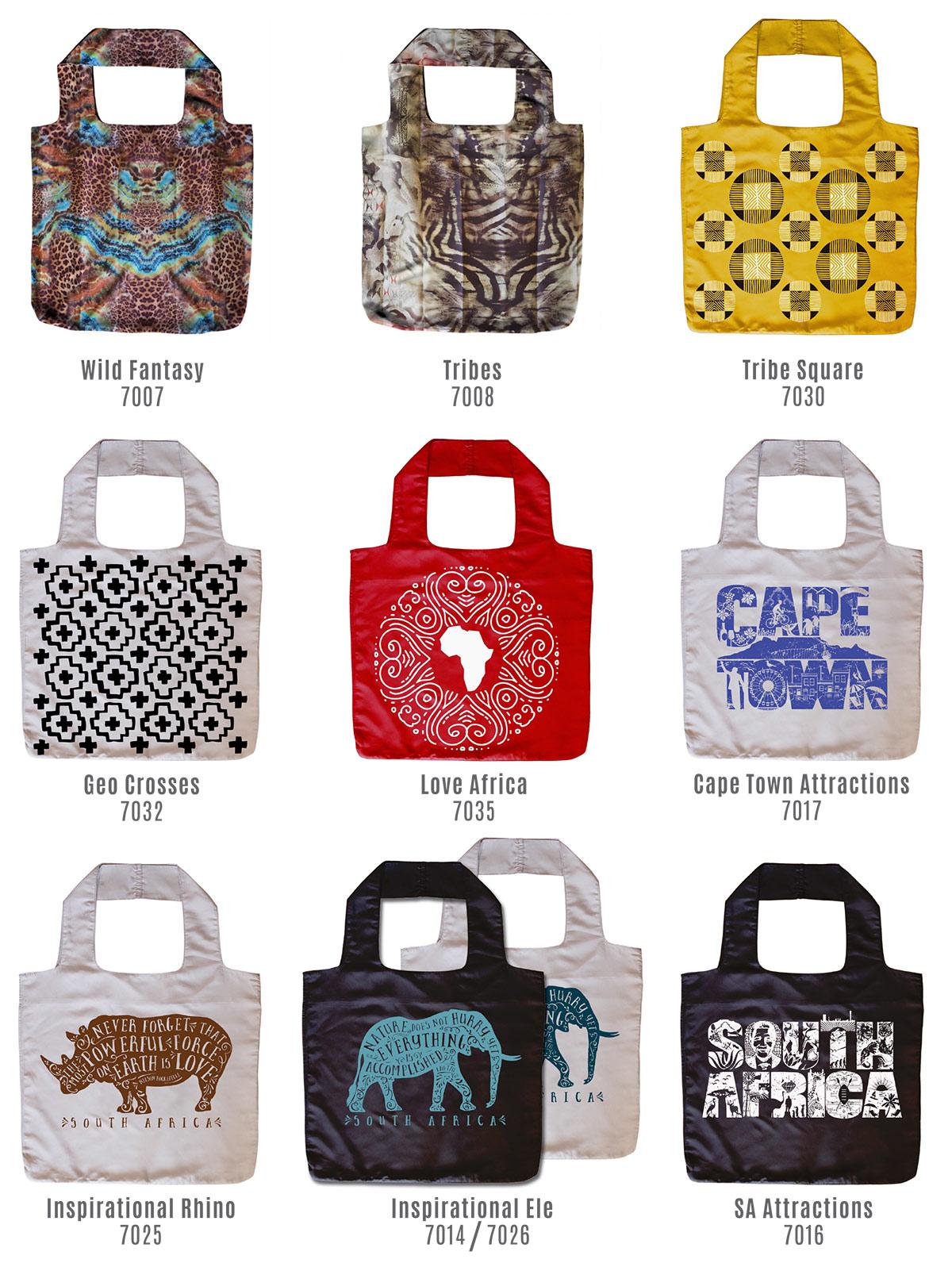 Reusable Shopper bags